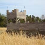 Watchtower at Fort Lafe